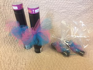 Gender Reveal Exploding Pink or Blue Powder Sticks